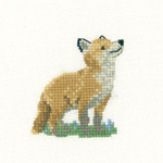 HC1061 - Fox Cub- Little Friends by Valerie Pfeiffer
